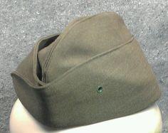 f5585933357 DSCP Garrison Military hat cap uniform MC USA Army size 7-1 8 Valor  Collection