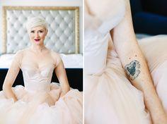 My Wony Bridal Dress | Modern Blush Wedding Dress