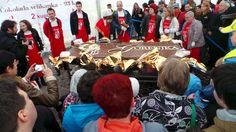 Die größte Schoko-Tafel der Welt!