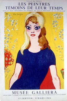 Kees Van DONGEN (1877/1968) à la Galerie Roussard, Montmartre