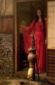 Gong Li as Hatsumomo in Memoirs of a Geisha