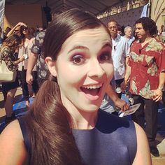 We love this cute Vanessa selfie from the Teen Choice Awards! | ABC Family | Switched At Birth