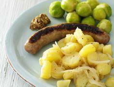 Billede af Pølse med varm kartoffelsalat