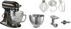 KitchenAid Küchenmaschine Artisan 5KSM156EBZ - inkl Sonderzubehör im Wert von ca 180€