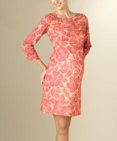 Lipstick Jungle Maternity Dress. Easy dress to recreate