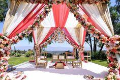 Outdoor Indian Wedding Mandap