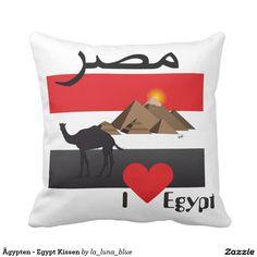 Ägypten - Egypt Kissen Throw Pillows, La Luna, Pillows, Pictures, Toss Pillows, Cushions, Decorative Pillows, Decor Pillows, Scatter Cushions
