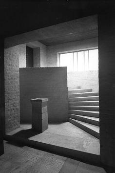 Dom Hans van der Laan's Abbey Church of St. Benedictusberg, Vaals 1967.