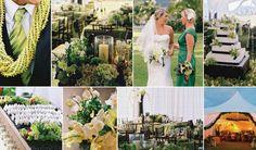 Hawaiian tropical wedding by Green