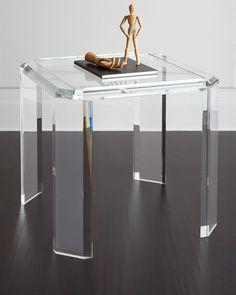 INTERLUDE Miranda Acrylic Game Table