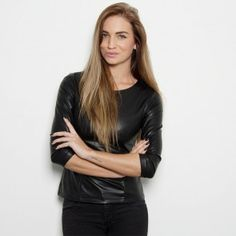 PERFECT LEATHER TOP