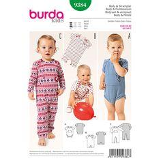 Body / Strampler, Burda 9384