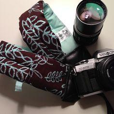 """Kathy"" Padded Camera Strap"