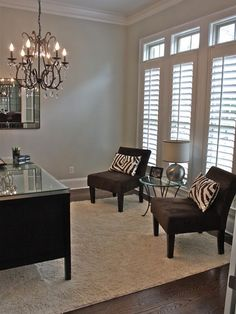 Home Office Dining Rooms Made Into Home Offices Design, Pictures, Remodel, Decor…