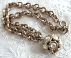 Sarah COVENTRY Super Chunky NECKLACE with by jewelryannie on Etsy, $12.49