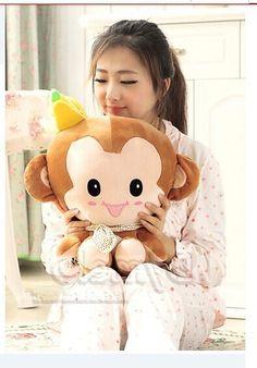 31.49$  Buy here - https://alitems.com/g/1e8d114494b01f4c715516525dc3e8/?i=5&ulp=https%3A%2F%2Fwww.aliexpress.com%2Fitem%2Fmiddle-plush-monkey-toy-banana-monkey-toy-smile-brown-monkey-toy-gift-about-40cm%2F32361067088.html - middle plush monkey toy banana monkey toy smile brown monkey toy gift about 40cm 31.49$