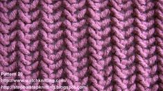 NobleKnits Knitting Blog: Free Scarf Pattern - One Ball Lace Scarf. Fina maskor.
