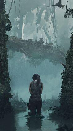 Tom Raider, Tomb Raider Game, Tomb Raider Lara Croft, 4k Gaming Wallpaper, Gaming Wallpapers, Animes Wallpapers, Hd Wallpaper, Dark Fantasy Art, Fantasy World