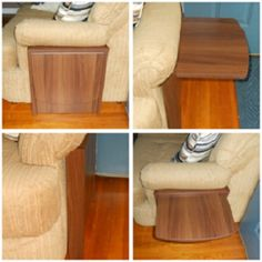 ... LOVE!!! on Pinterest   Space saving, Side tables and End tables