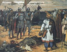The Vikings were a seaFfaring people from the late eighth to early 11th century who established a name for themselves as traders, explorers and warriors. They discovered the Americas long before Columbus and could be found as far east as the distant reaches of Russia