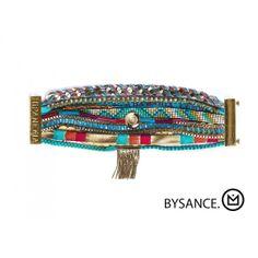 Bracelet Hipanema Bysance Une pièce unique en vente ici : http://www.virginie-bijoux-montres.com/bracelet-hipanema-bysance.html