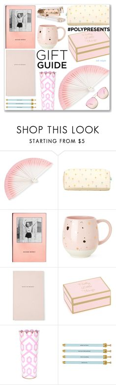 """""""#69 PolyPresents - Stocking Stuffers for Girly: 06/12/17"""" by solyda-sok ❤ liked on Polyvore featuring interior, interiors, interior design, home, home decor, interior decorating, FernFans, kikki.K, Kate Spade and PrimaDonna"""