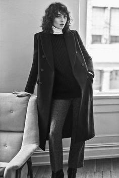 Steffy Argelich for Club Monaco Autumn/Winter Campaign shot by Lachlan Bailey in Tribeca, NYC.