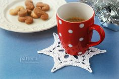 Crochet Pattern Happy Crochet Snowflake