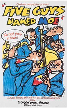 April 8, 1992 - FIVE GUYS NAMED MOE