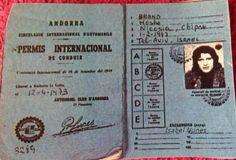 Patente internazionale di Mike Brant Aprile 1973 dalla Collezione Isabel Nunes.