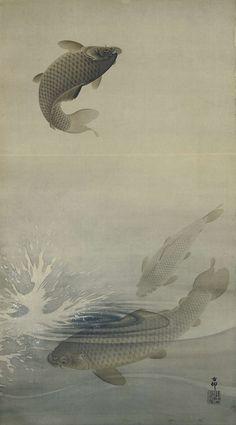 Karpers, Ohara Koson, , 1887 - 1945