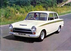lotus cortina mk1 - Google Search Retro Cars, Vintage Cars, Antique Cars, Garage Workshop Plans, Old Lorries, Lotus Car, Ford Classic Cars, Ford Escort, Car Ford