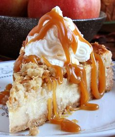 Caramel Apple Crisp Cheesecake – the best recipes