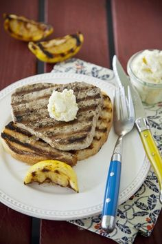 Check out what I found on the Paula Deen Network! Tuna Steaks with Lemon Pepper Butter http://www.pauladeen.com/tuna-steaks-with-lemon-pepper-butter