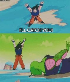 I'll catch you! #DBZ