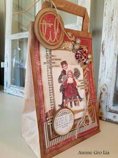 Kort & Godt Galleri: Pyntet papirpose