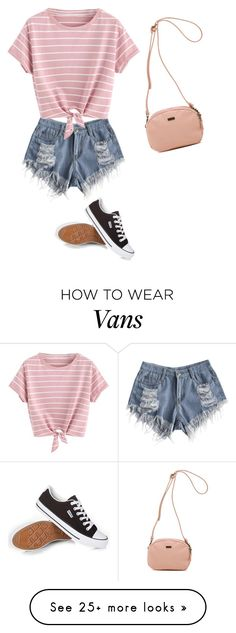 """""""I HAVE NO IDEA HOW TO WORK THIS BUT ITS CUTE IG"""" by bailey-orourke on Polyvore featuring Vans"""