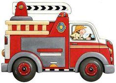 international directory of children's illustrators Diy Quiet Books, Transportation Theme, Josephine, Cute Clipart, Sick Kids, Police Cars, Kids Cards, Paw Patrol, Fire Trucks