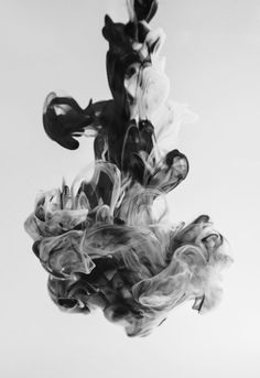 Ink suspended in water - more on www.murraymitchell.com