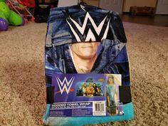 WWE Licensed hooded Bath Towel John Cena Roman Reigns Daniel Bryan kids pool #WWE