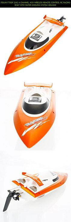 Feilun FT009 2.4G 4 channel 4CH Wireless Remote Control RC Racing Boat with Water Cooling System Orange #shopping #kit #plans #rc #fpv #gadgets #parts #products #technology #feilun #tech #drone #racing #camera #ft009 #2.4g