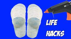 3 fantastic things can be made with hot glue gun - life hacks - YouTube