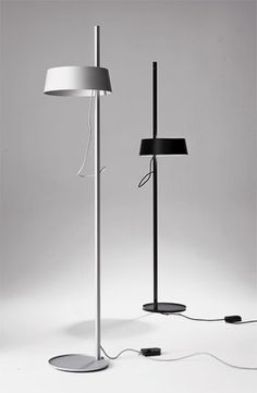 ELLA lamp for the floor and living room in black and white | lighting . Beleuchtung . luminaires | Design: Zeidler | Anta |