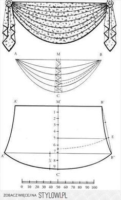 trendy sewing curtains trendy sewing curtains valance Curtain track or curtain pole? The most frequent types of fastening for curtains are rods and rails. Swag Curtains, Curtains And Draperies, No Sew Curtains, Home Curtains, How To Make Curtains, Valances, Drapery, Cornices, Curtain Patterns