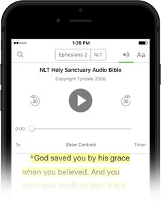 Let the Bible App read to you. Audio Bible, Bible App, When You Believe, S Word, The Real World, Listening To You, Continue Reading, Catholic, Tech