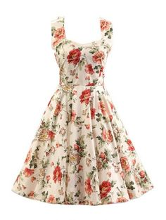 SHARE & Get it FREE | Sleeveless Floral Print Swing DressFor Fashion Lovers only:80,000+ Items • New Arrivals Daily Join Zaful: Get YOUR $50 NOW!