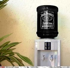 """Things could get real interesting around the """"water cooler."""""""