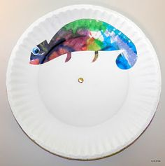 Today's Eric Carle book was The Mixed-Up Chameleon . After teaching the kids about chameleons (like how they actually change color according...