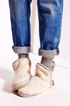 So cozy - need these for lounging around the house! MUK LUKS X UO Confetti Amira Slipper Boot