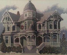Debbie Patrick Designs Counted Cross Stitch Pattern Booklet Christmas Victorian 2003 San Antonio Ave. Alameda, California